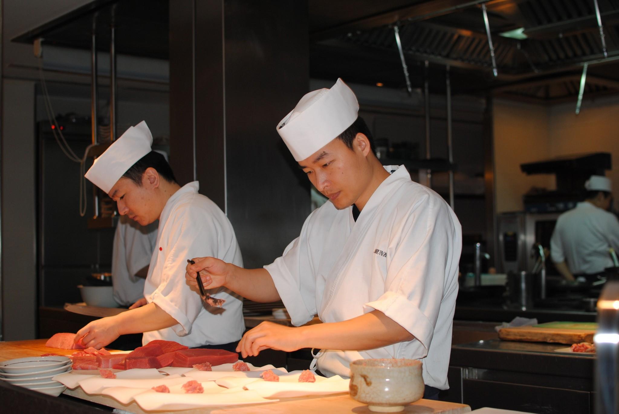 Cocineros concentración Koy Shunka
