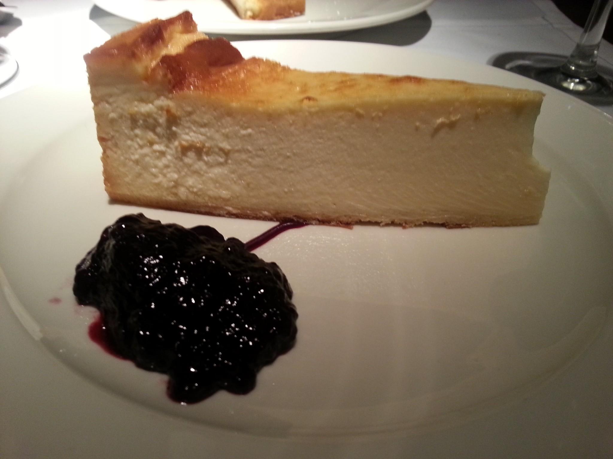 Tarta de queso Bodega El Riojano