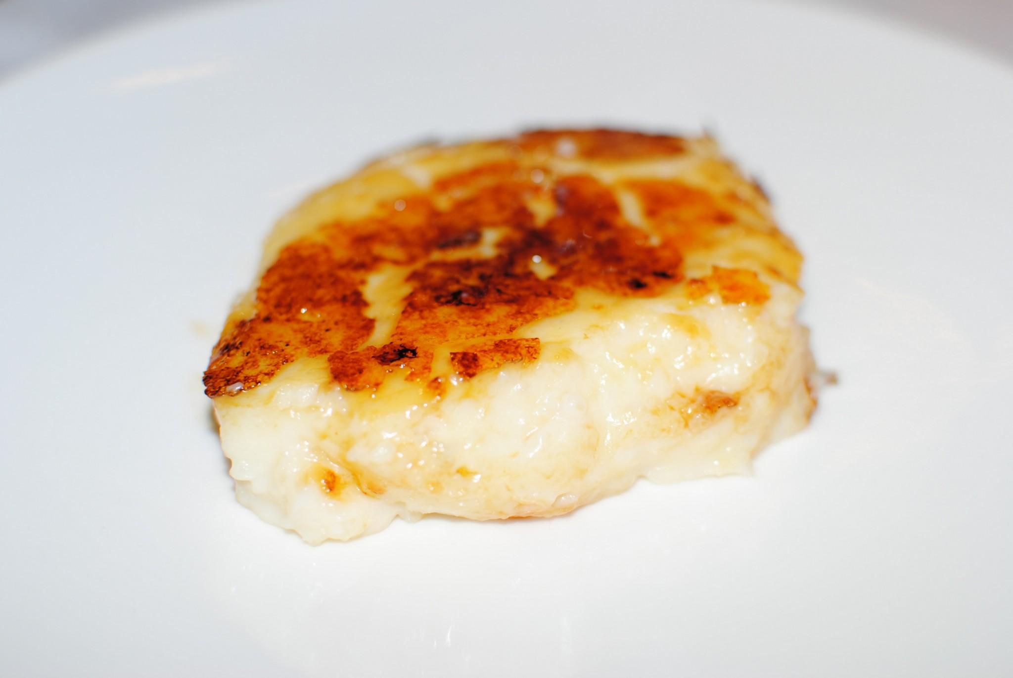 Crema de arroz con leche Casa Gerardo