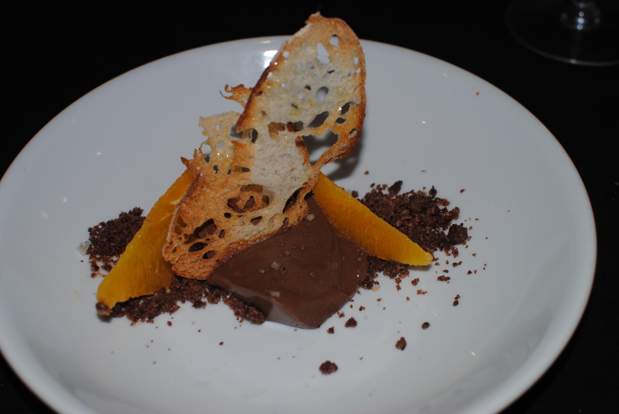 Chocolate Pan Naranja Triciclo