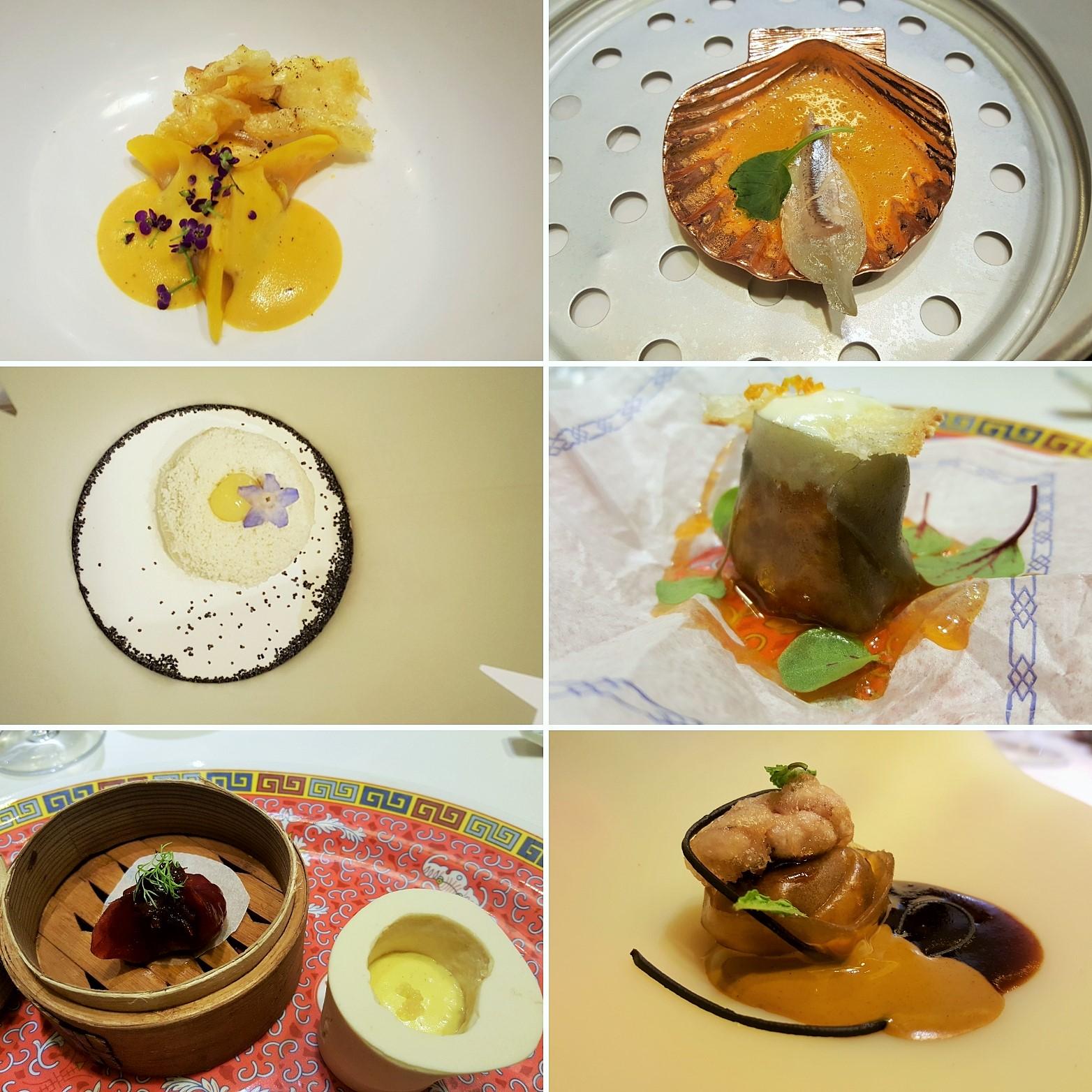 Diverxo - los 15 mejores platos 2017