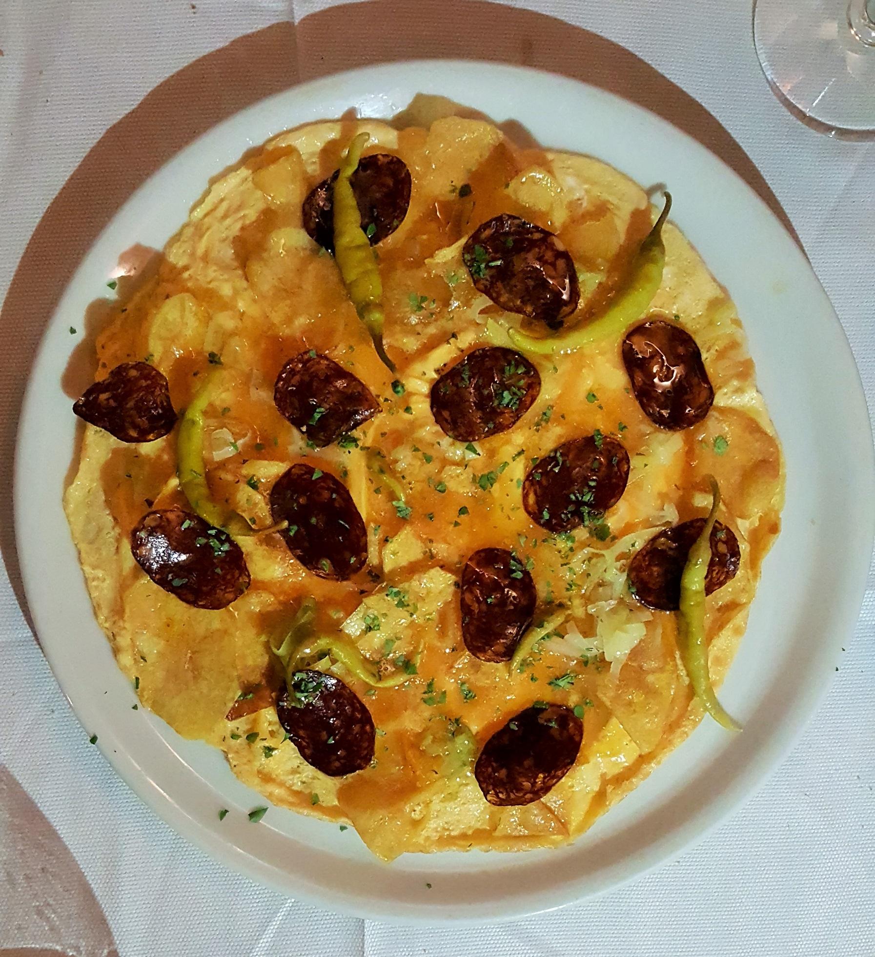 Tortilla vaga Sacha