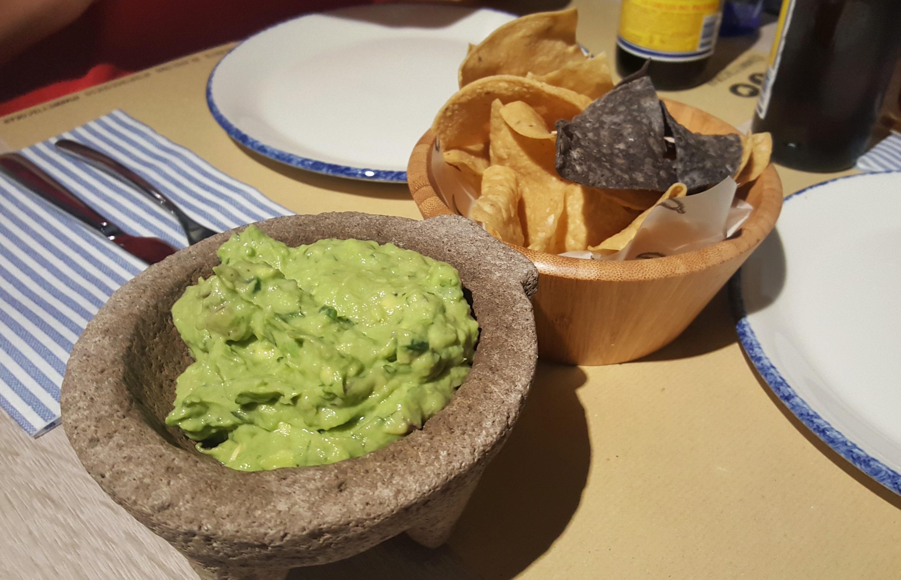 Guacamole Mawey taco bar