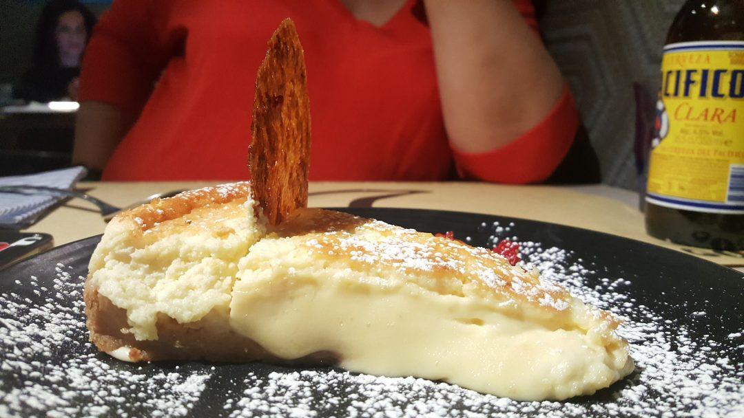 Tarta de queso Mawey taco bar