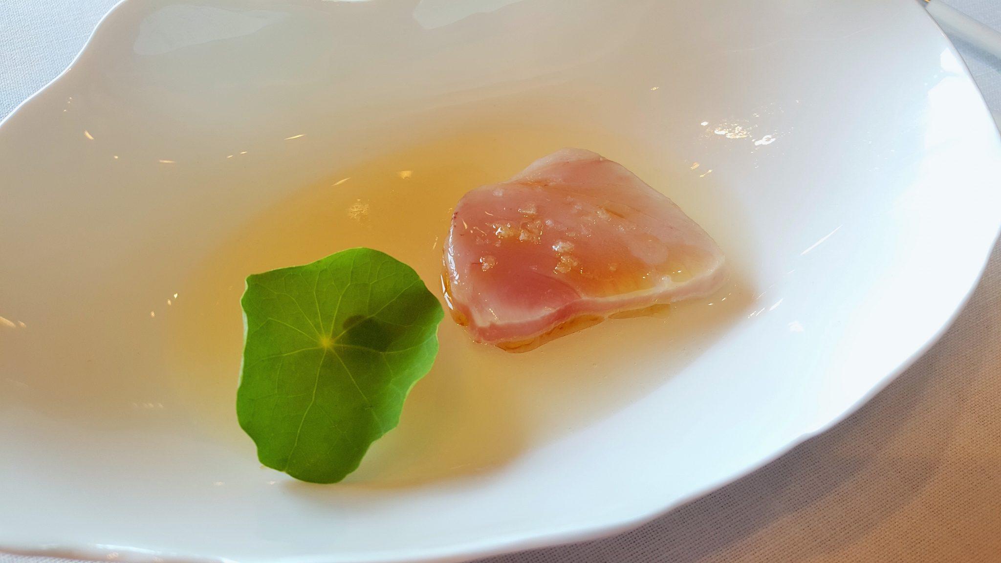 Bonito y agua de tomate Alborada