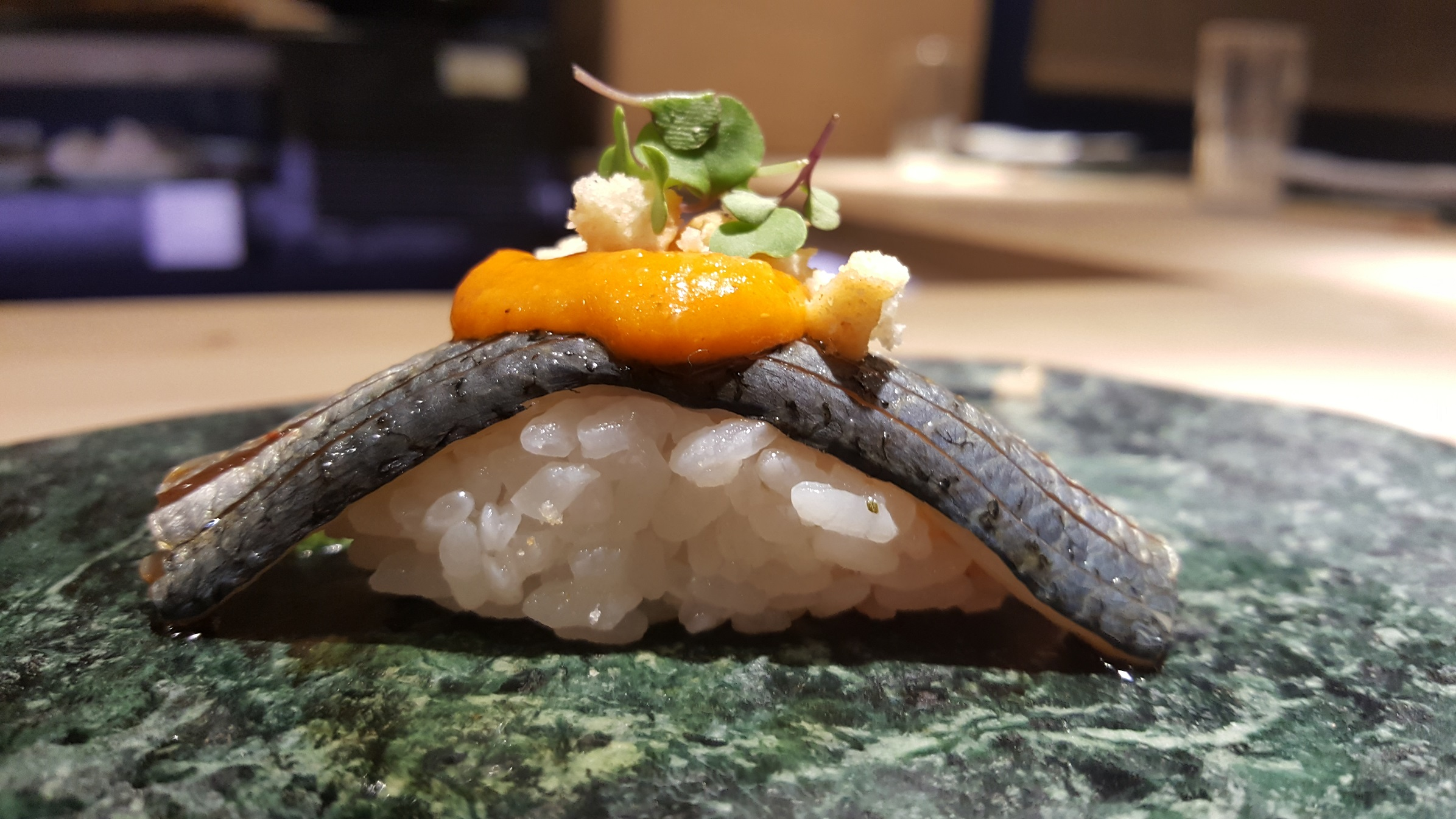 Nigiri sardina tomate Gaman