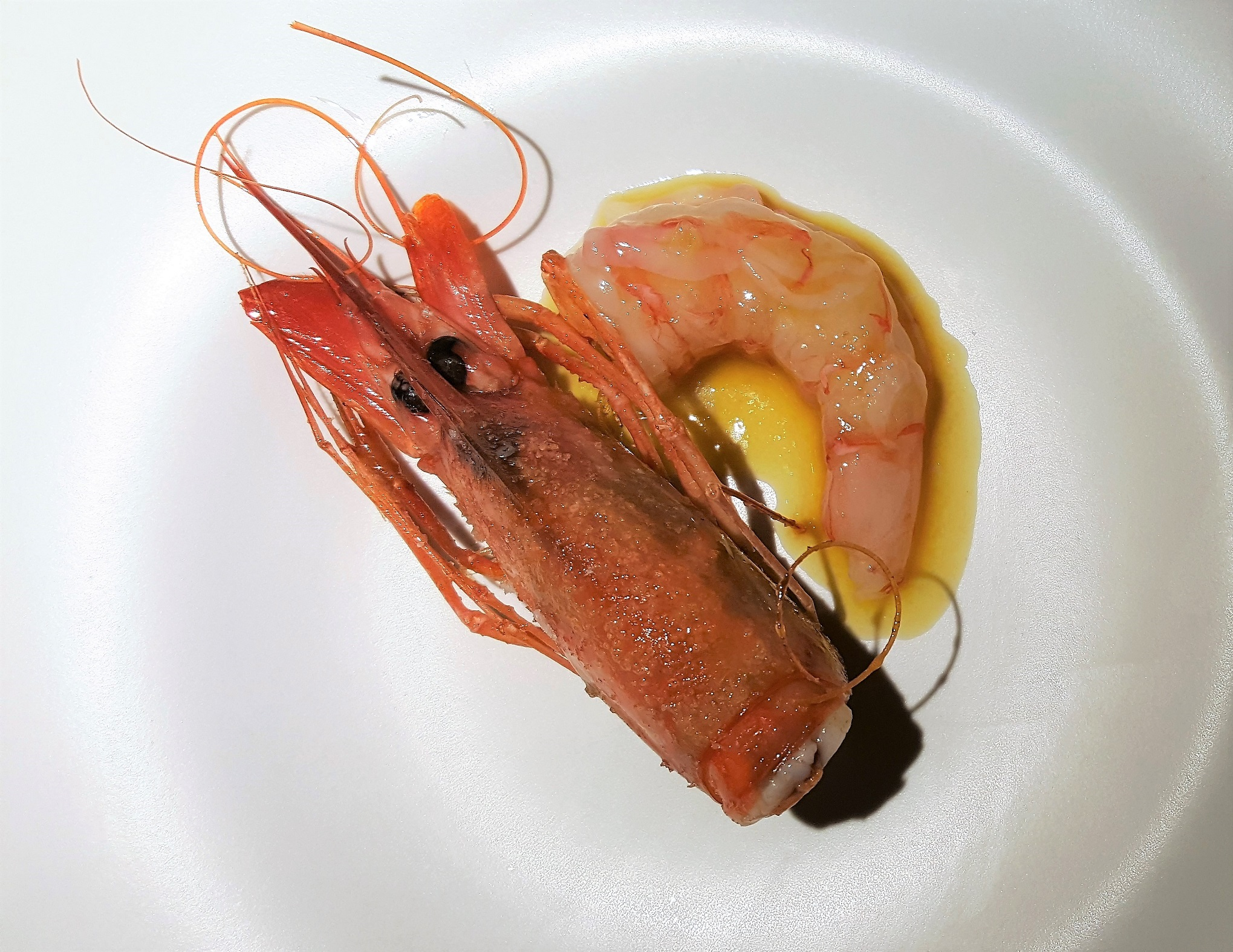 Gamba roja Arima Basque Gastronomy