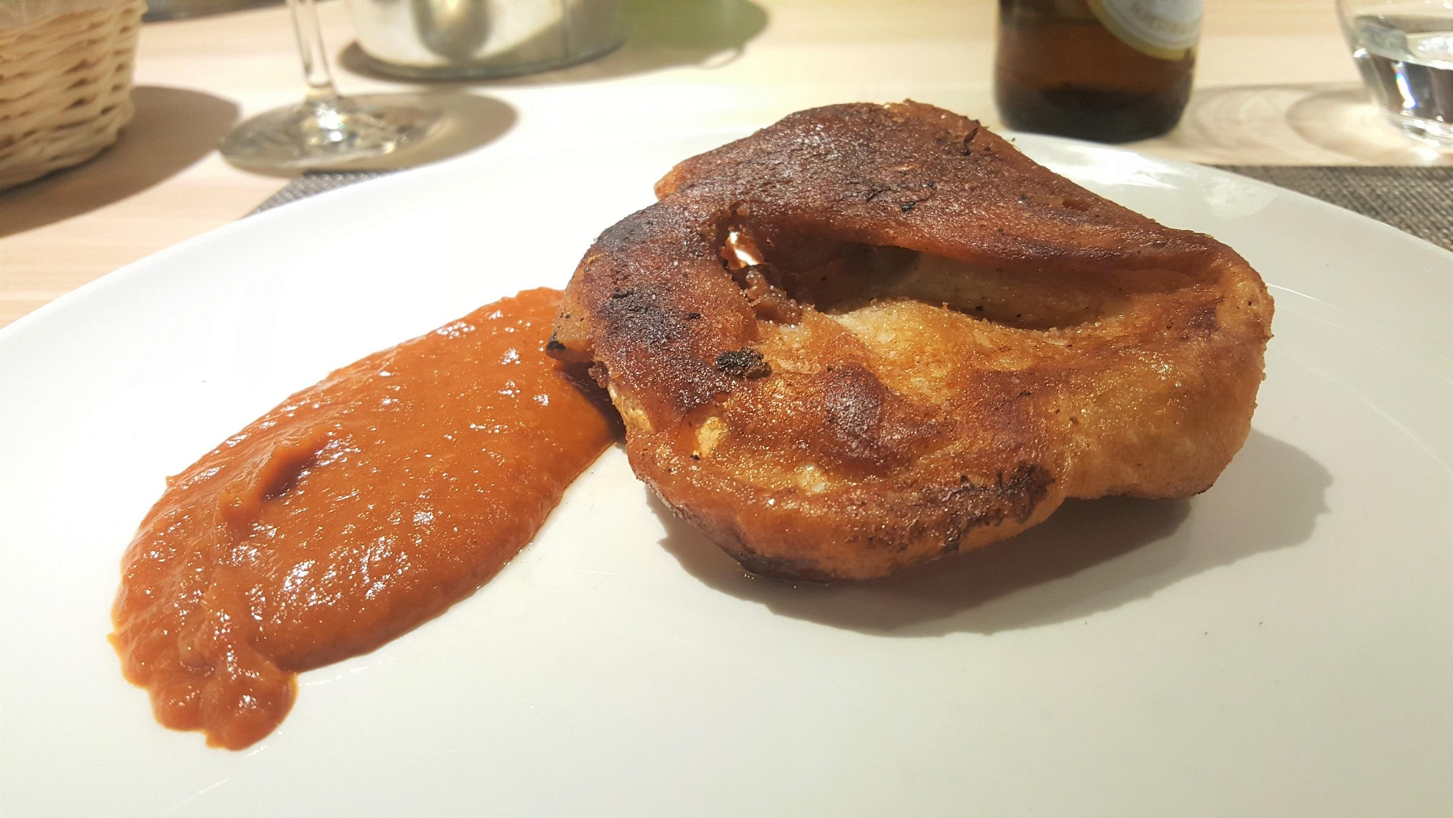 Oreja salsa brava La Tajada