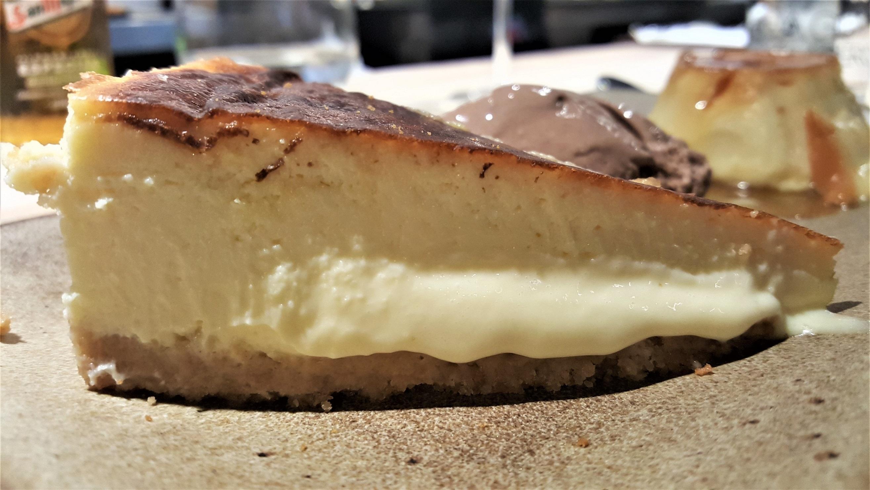 Tarta de queso La Tajada