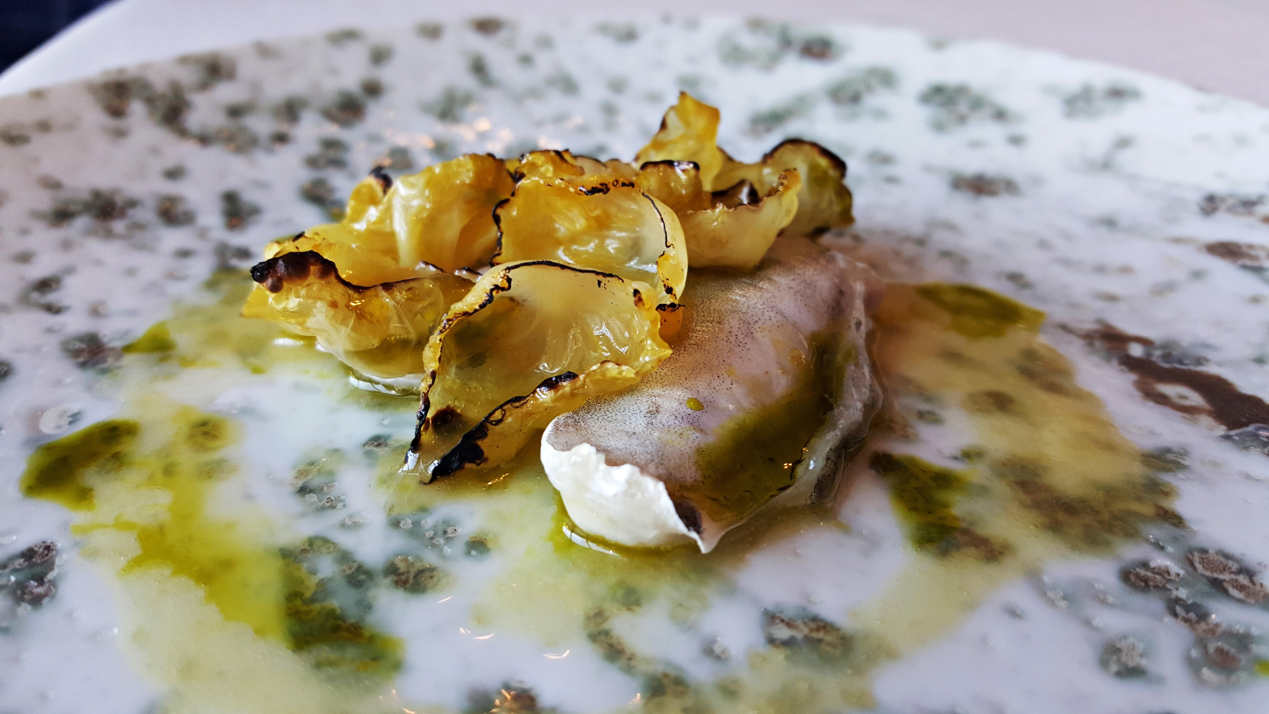 kokotxa en salsa verde Nerua