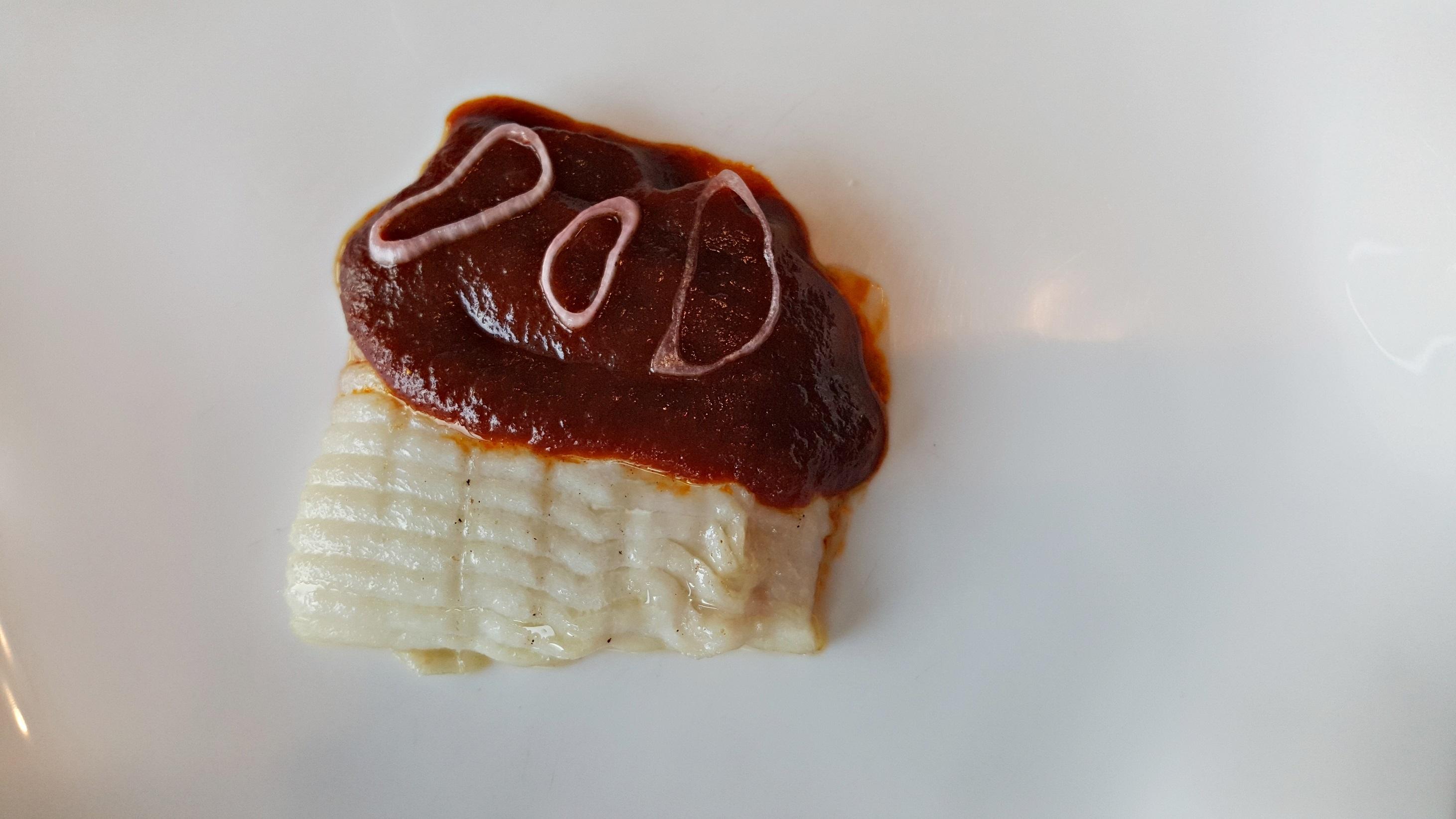Raya salsa vizcaína