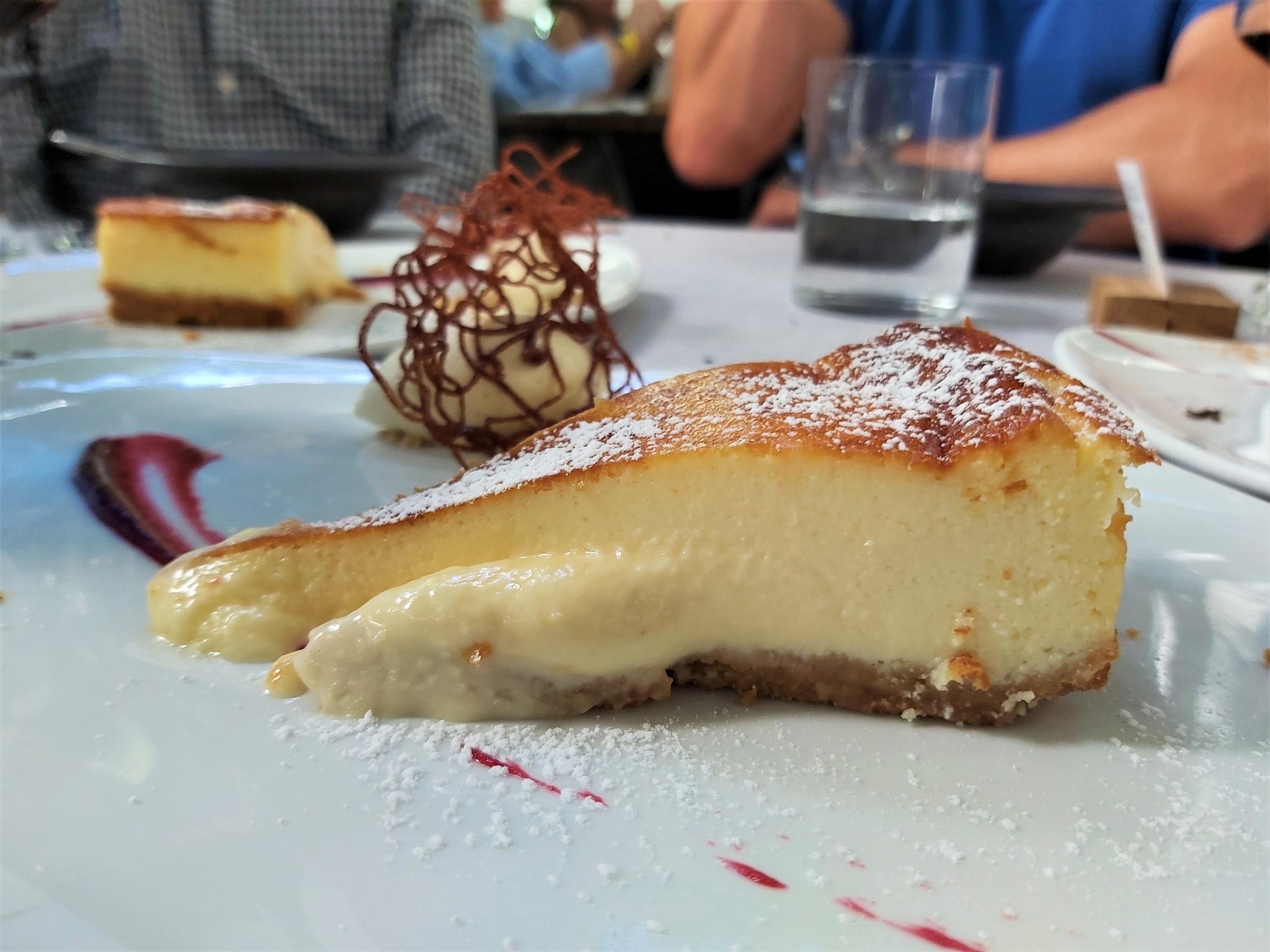 tarta de queso La Bien Aparecida
