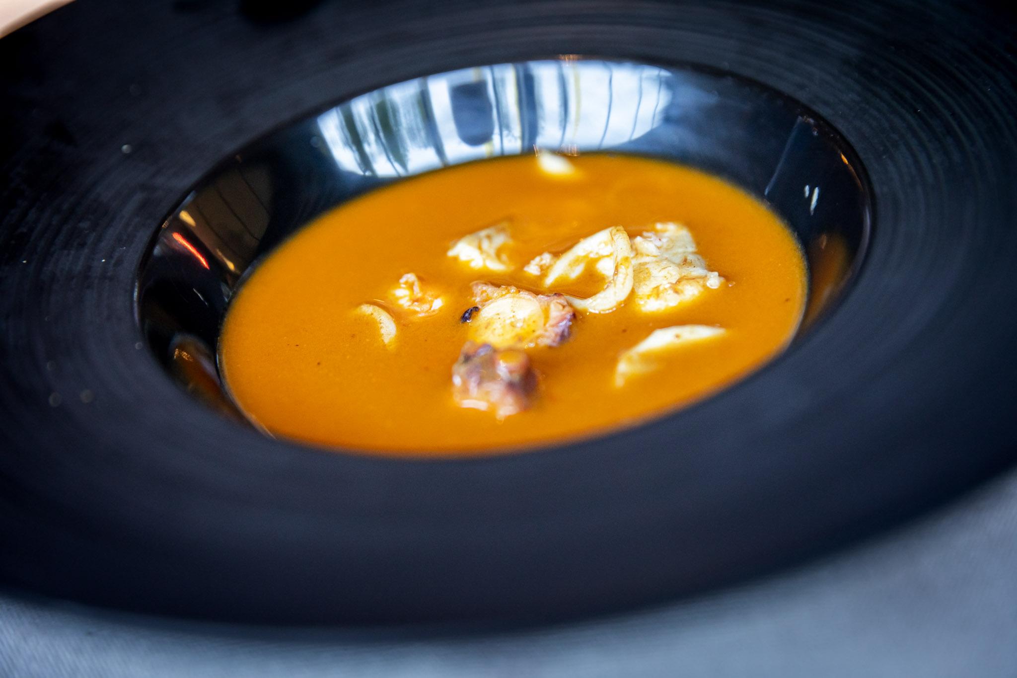 Sopa de pescado La Maruca Castellana