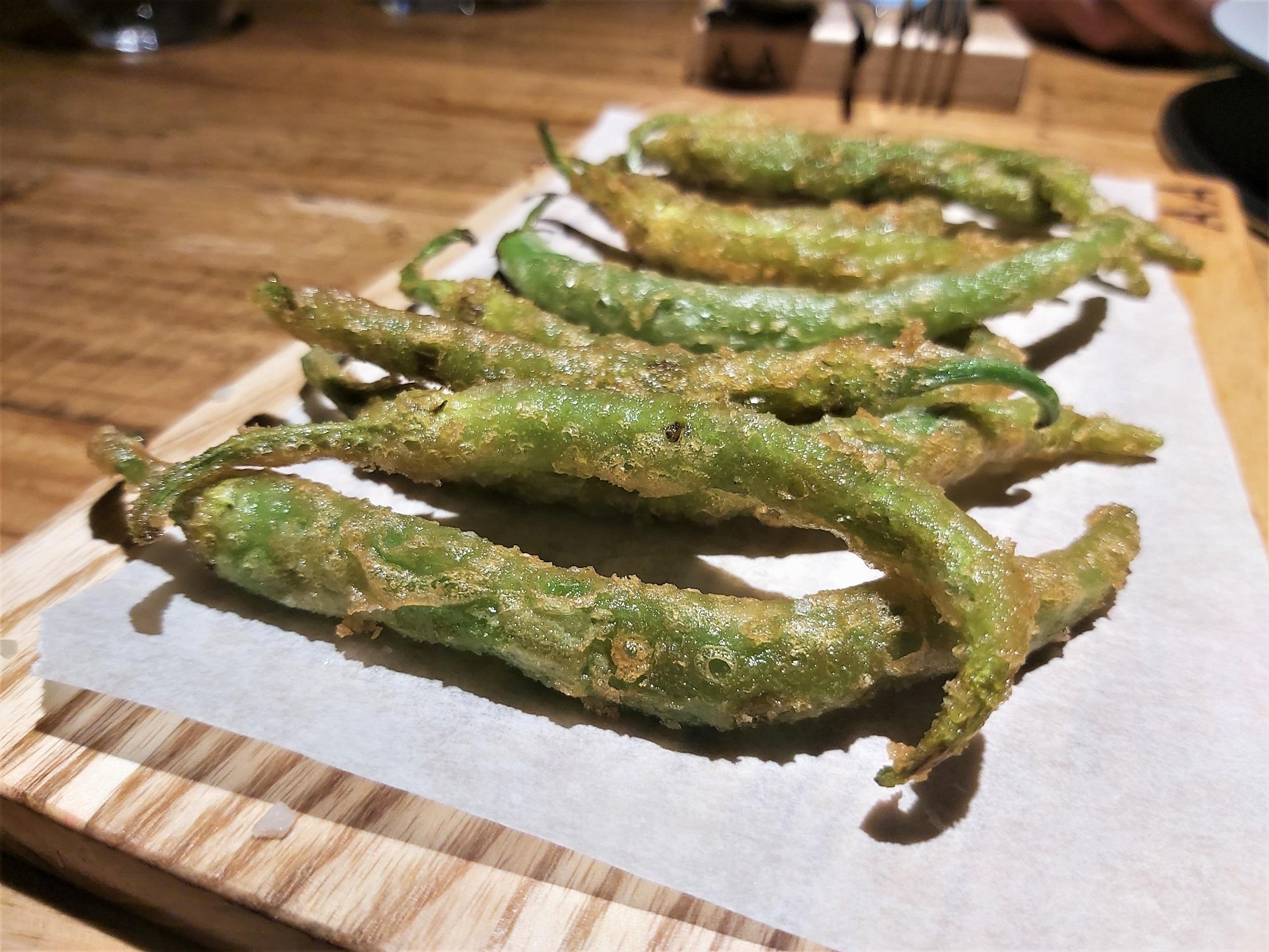 Gilas en tempura Arima