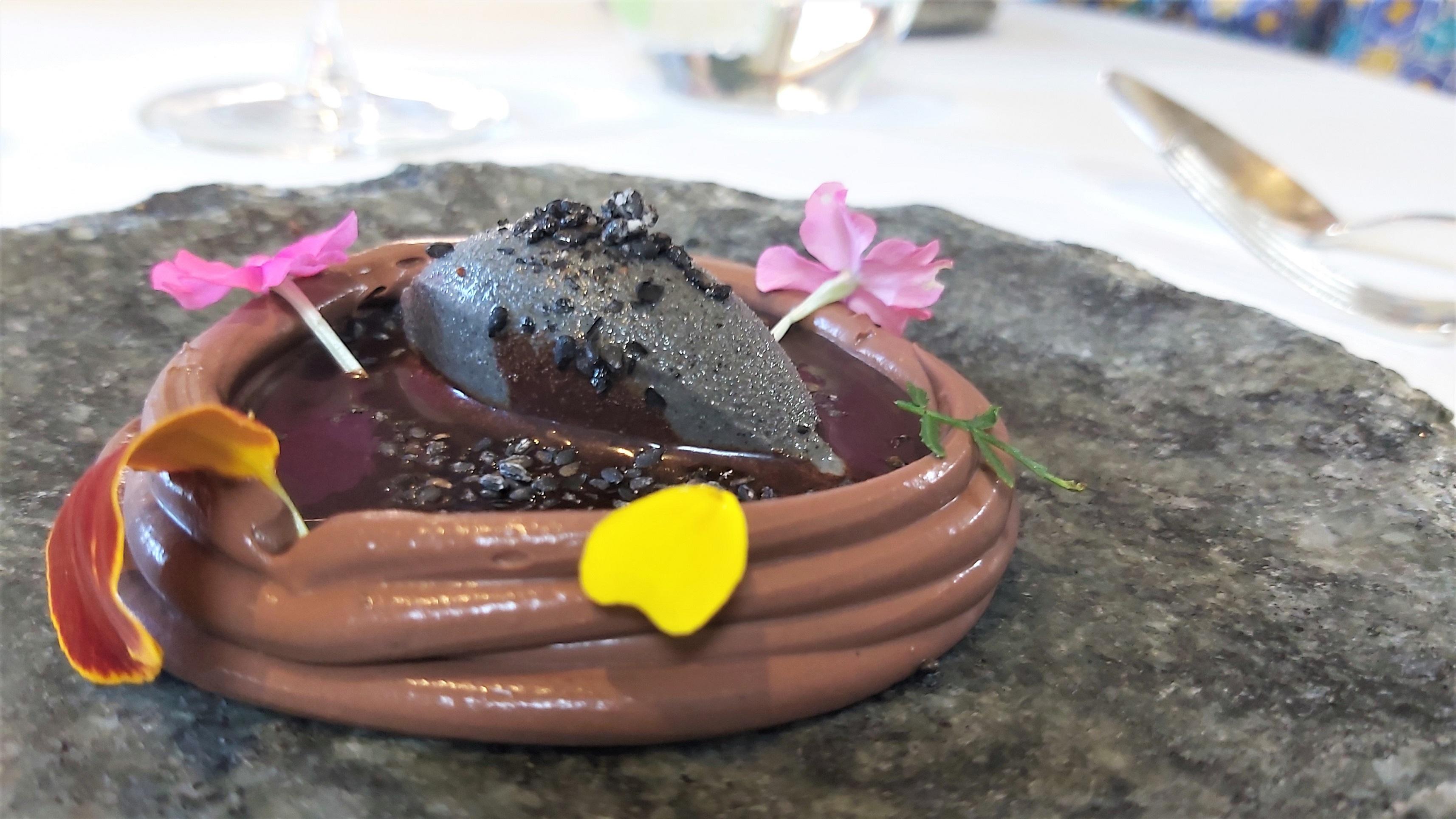 Chocolate, sesamo negro Casa Marcial